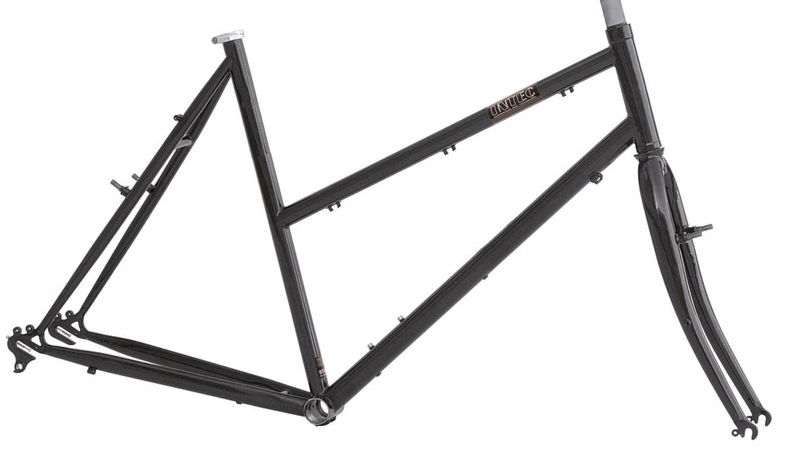 T7 frame set & forks for derailleur gears
